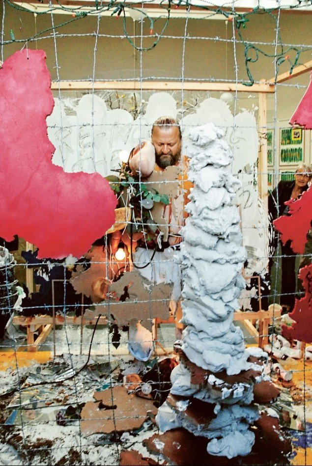 Re-modelling the World again again again,  2007. Foto: York Wegerhoff, SMK