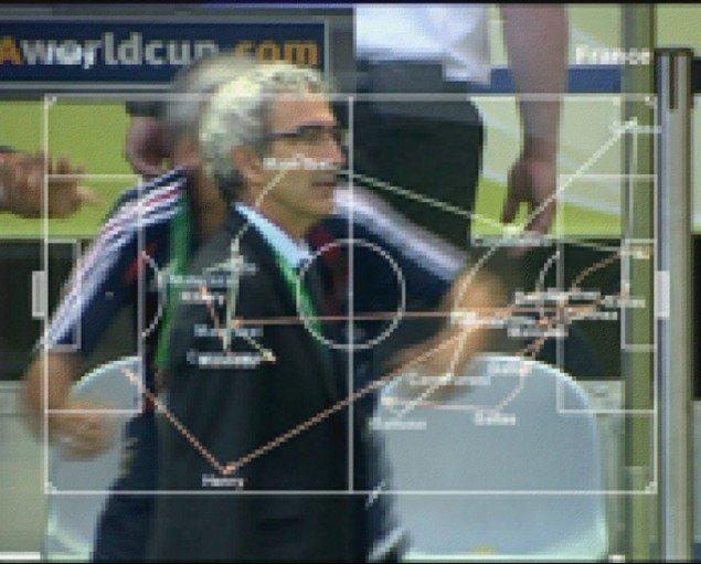 Harun Farocki: Deep Play, 2007. (Videostill, Pressefoto)