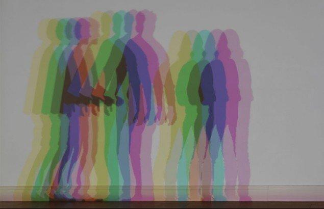 Olafur Eliasson: Your uncertain shadow (colour), 2010 (Foto: Jens Ziehe / neugerriemschneider, Berlin / Tanya Bonakdar Gallery, New York)