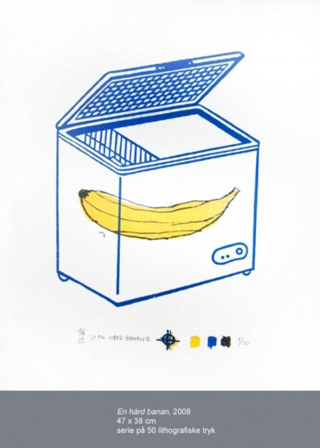 En hård banan, 2008. Pressefoto.