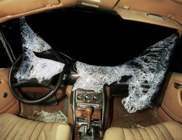 Nicolai Howalt: Car Crash Atudies. Interior #1, 2009. (Martin Asbæk)