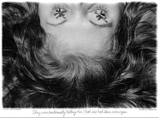 Marcia Resnick: Re-Visions (1978). En del af udstillingen Empire State of Mind i Den Hvide Kødby.