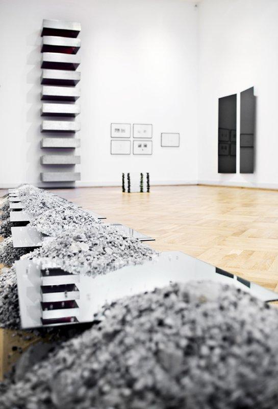 Minimalisme fra udstillingen Det ny Statens Museum for Kunst fra 06/07. (Pressefoto SMK)