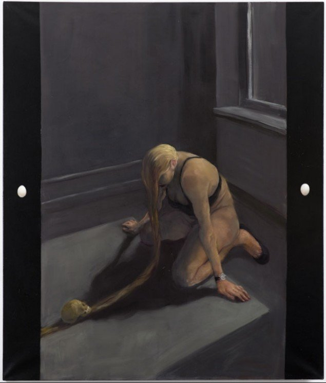 Michael Kvium, Domestic Scene III, 1995