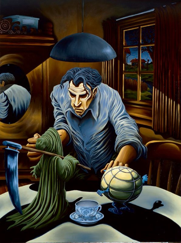 Martin Bigum, Den ulykkelige mand, 1994