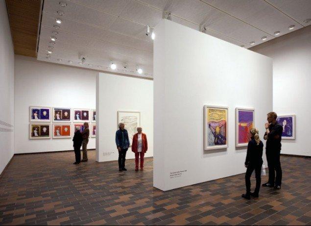 Installationsview, Warhol After Munch (Foto: Louisiana/Brøndum & co.)