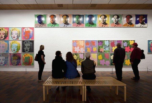 Installationsview, Warhol After Munch, udvalg fra Louisianas Warhol-samling. (Foto: Louisiana/Brøndum & co.)