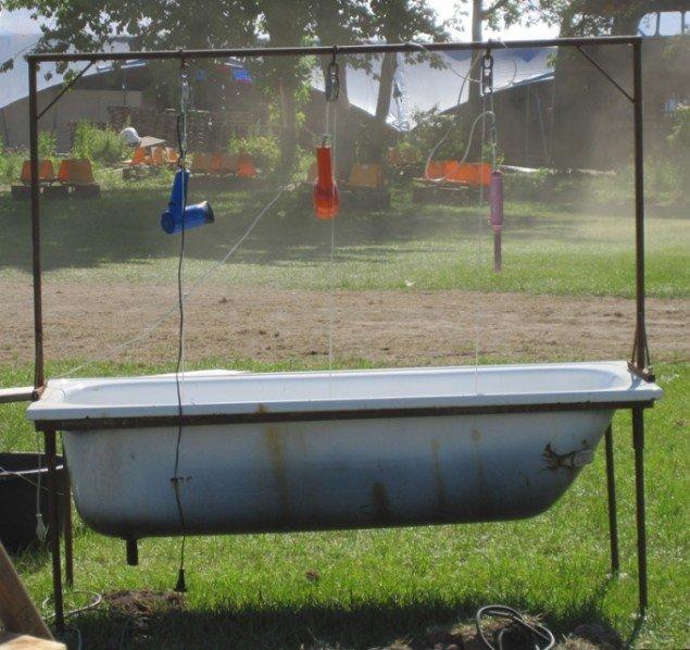 Illutron vil her lade her folk putte el-apparater i vand. (Foto: Mette Villum Jensen)
