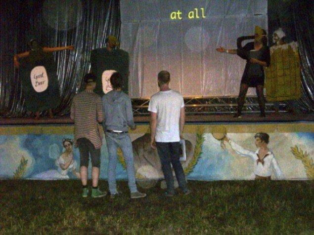 Backstage Beer Musical, Expression-scenen.  (Foto: Line Møller Lauritsen)