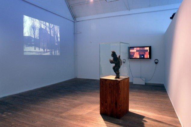 Shezad Dawood, Installationsview fra værket, The Hidden City, 2010,  Foto: Jens Møller Sørensen.