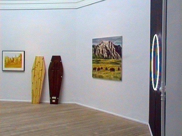 Shezad Dawood, Installationsview fra værket, The Wasteland, foto: Anne Mette Thomsen