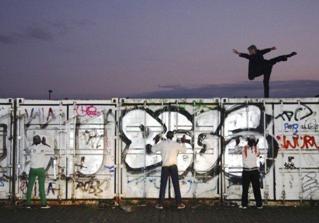 Metropolis 2009: BLINDSPOT af Jay Pather (Foto: Torben Huss)