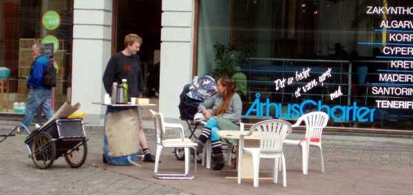 Jonas Palms projekt på Lille Torv.
