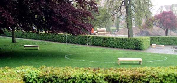 Thomas Elsted Rasmussens projekt i Mølleparken.