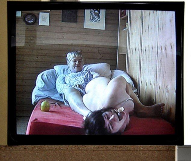Anna Witt: Die Geburt (fødslen), 2003. (Foto: Gurli Sørensen)