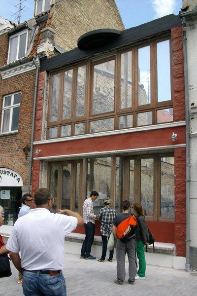 A Kassen, Flipfacade, 2010. (Foto: Line Møller Lauritsen)