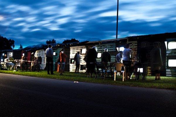 Sådan ser Wooloo's New Life Horbelev ud om aftenen (Foto: Line Møller Lauritsen)
