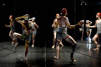 I Carte Blanches ny danseperformance Vandspejling udfordrer instruktør Sara Topsøe-Jensen det visuelle udtryk.  Pressefoto