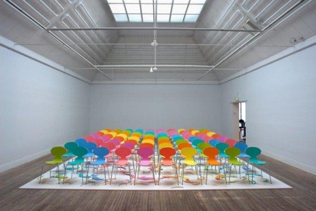 Superflex, Copy Right (Colored Version), installation 1997, FRAC, foto: Jens Møller Sørensen