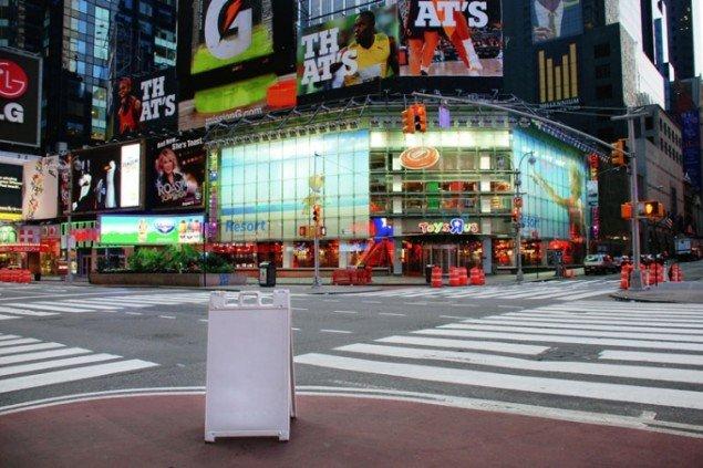Helene Koch: Uden titel (Times Square), 2010.