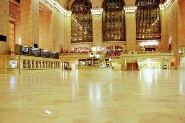 Helene Koch: Uden titel (Grand Central Station), 2010.