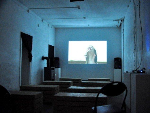 Jesper Just. Bliss and Heaven, video. Fra MMX´s screening-rum (Foto: Gurli Sørensen)