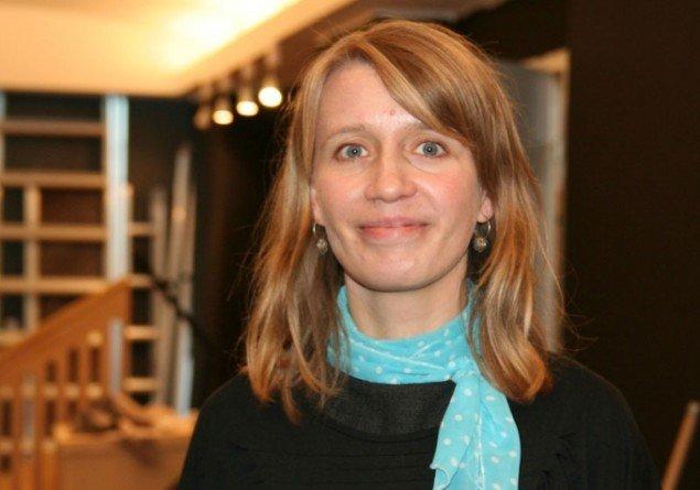 Projektleder på Det' vores kunst Ulrikke Neergaard. (Foto: Marie Norman Nyeng)