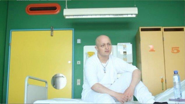 Herlev Hospital udsmykket af Poul Gernes. (Still fra filmen Frirum. Filmet af Kim Høgh Mikkelsen)