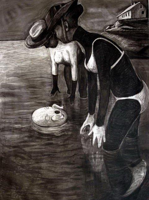 Young Swan, Anke Feuchtenberger, presse