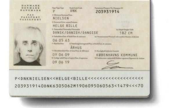 Den tidligere Claus Beck-Nielsens nuværende pas (Das Beckwerk / Claus Beck-Nielsen 1963-2001)