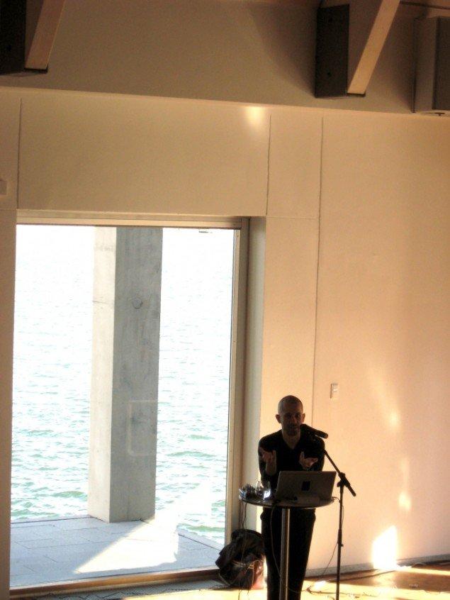Jacob Kirkegaard fortæller om baggrunden for sit lydværk Labyrinthitis.