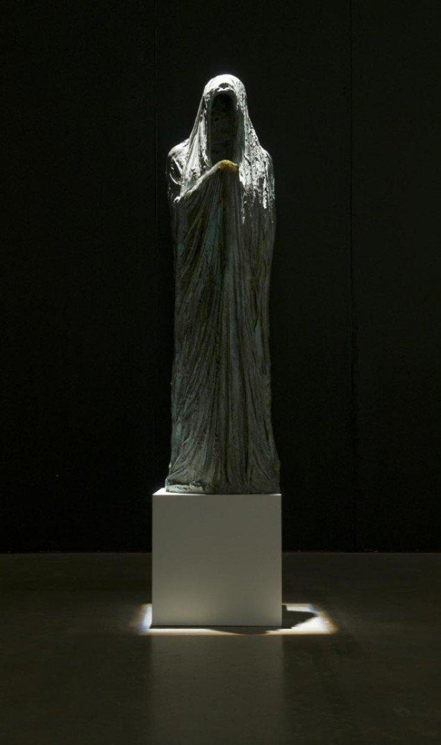 Værket Gastalt (Todesfigur) af Lemmerz. Foto: ARoS/Ole Hein Pedersen