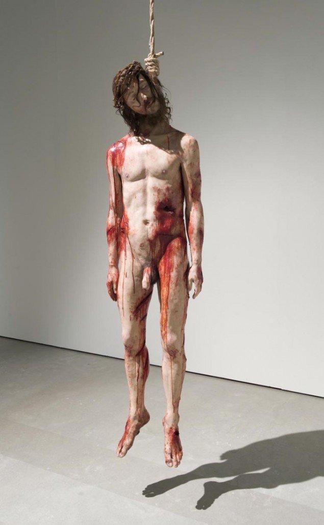 Christian Lemmerz: Jesus Judas, 2010. Foto: ARoS/Ole Hein Pedersen