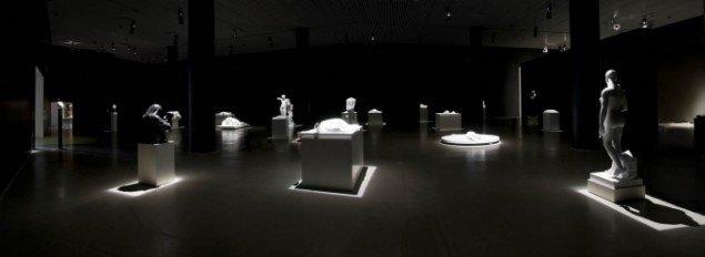 Panorama over udstillingen Genfærd på ARoS. Foto: ARoS/ Ole Hein Pedersen