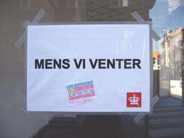 Gaderne i Århus summer af debat. Foto: Anne Dyhr.