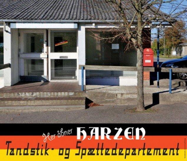 Eksempel på CityLifting, som ikke blev fundet i Løgstør. Foto: CityLifting - SurReal Estate Art Project on Facebook