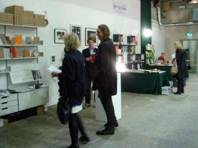 Fra venstre: Zabludowicz Collection og Aye Aye Books, (foto: C. Gravesen)