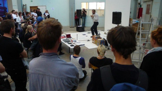 Goodiepals forelæsning under sidste års Alt_Cph (Foto: MIke Lamb)