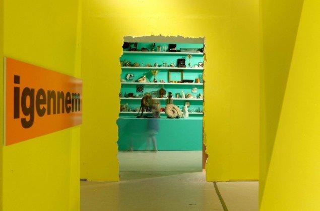 Fra udstillingen LOVE - om kærlighed til sproget. Foto: antiloop.dk