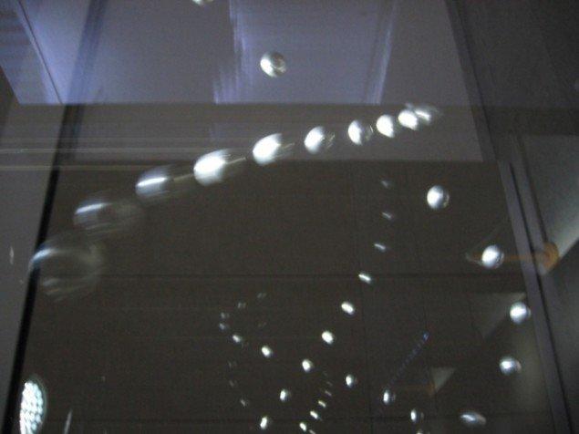 Rumlige gengivelser af Aaltos arkitektur i Reflecting kinematronic 1. Foto: Jeppe Lentz