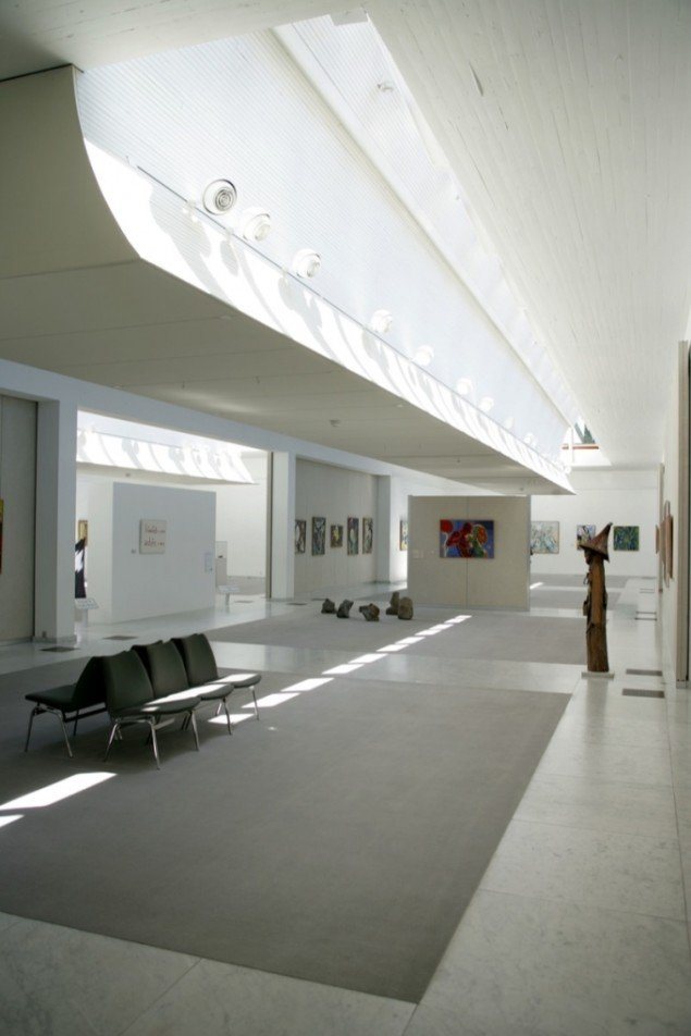 KUNSTENs museumsbyggeri af Alvar Aalto. Pressefoto.