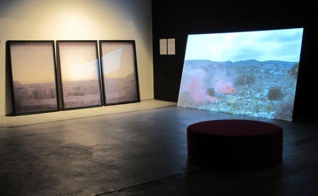 Installationsview: Anna Malagridas værker på  udstillingen Nuevas Historias.