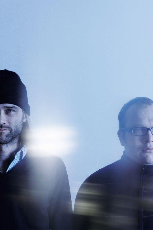 Peter Døssing og Aslak Vibæk (Foto: Sacha Maric)