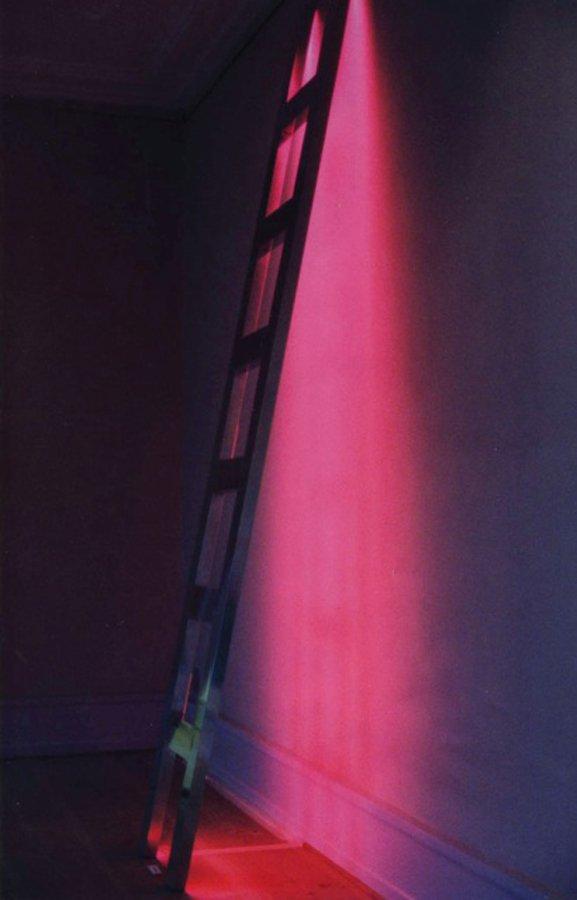 Viera Collaro: Climbing, 1996, 285x50 cm. Foto: Christoffer Egelund.