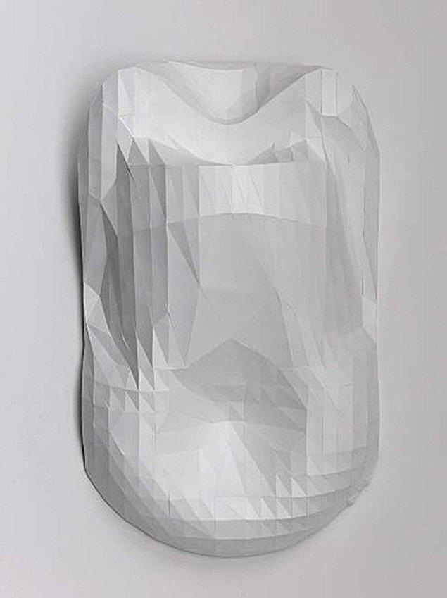 René Schmidt: Blop Blop Bending Corner, 2007, 115x72x40 cm. Foto: Galleri Christoffer Egelund.
