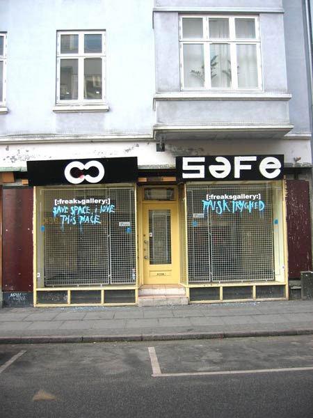 Her i Borggade kan du besøge [:freaksgallery:]. Foto: Anne Dyhr.