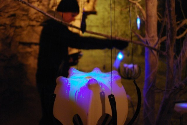Installationen Perceptual Ecologies. Foto: Esben Skouboe Poulsen