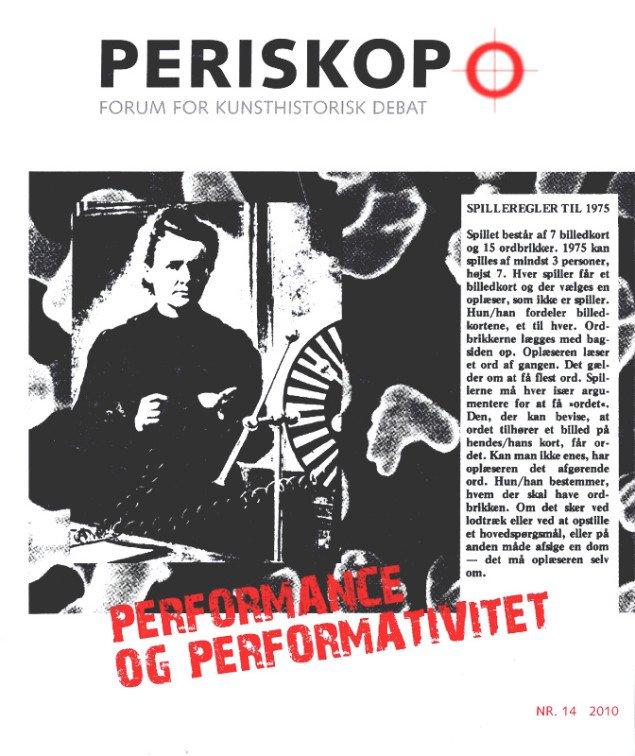 Forsiden på det nye nummer af Periskop