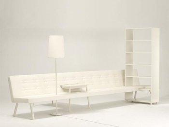 Sofastykke, 2004. Design Ditte Hammerstrøm, udført af Erik Jørgensen, Foto: Jeppe Gudmundsen-Holmgreen.