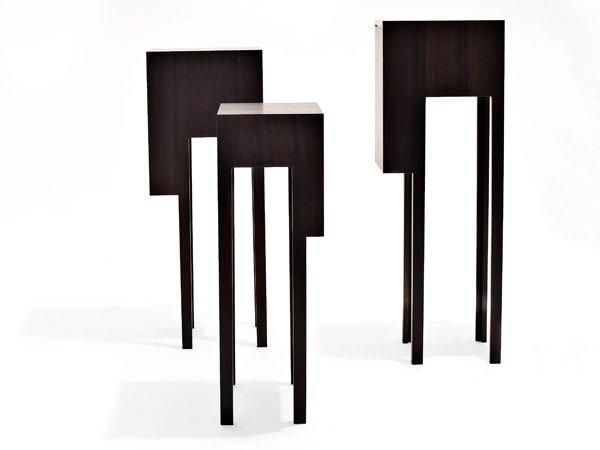 Leggy Cabinets. Design: Ditte Hammerstrøm. Udført af møbelsnedker Jannik Grage. Foto: Jeppe Gudmundsen-Holmgreen.
